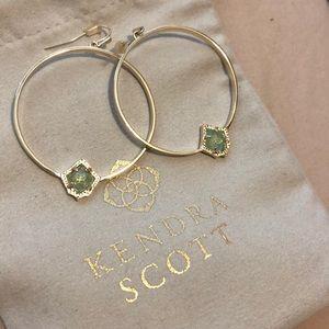 NWOT Kendra Scott Hoop Earrings